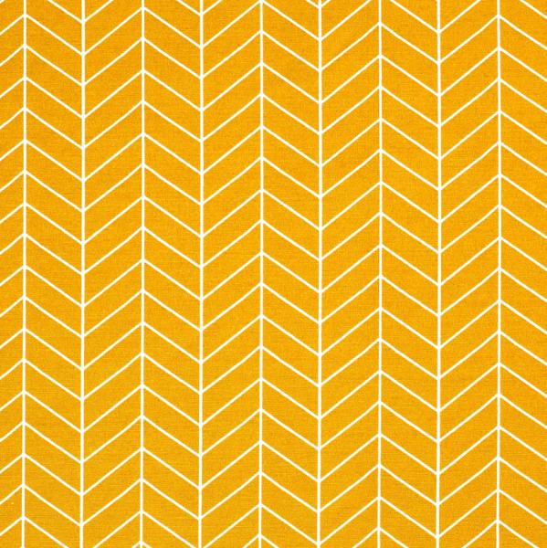 Stoff Baumwolle Meterware messing gelb Grafik Linien 0,5