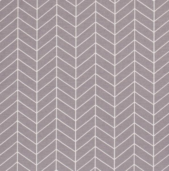 Stoff Baumwolle Meterware grau Grafik Linien 0,5