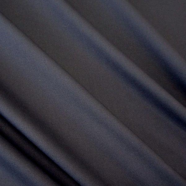Stoff Baumwolle Meterware Panama Canvas marineblau dunkelblau