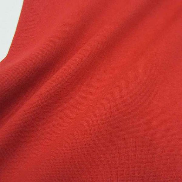 Bündchenstoff Jersey Schlauchware rot Bündchen Ökotex100