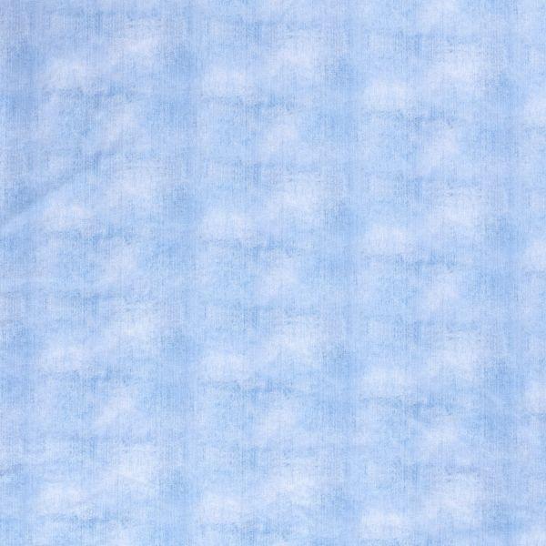 Stoff Meterware Jersey Jeansoptik washed out uni 0,5