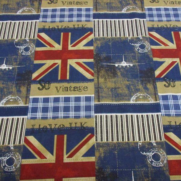 Stoff Baumwolle United Kingdom 280cm breit