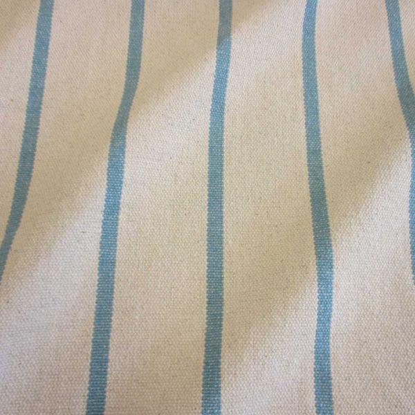 Stoff Baumwolle natur Streifen mint Panama schwer Frankreich