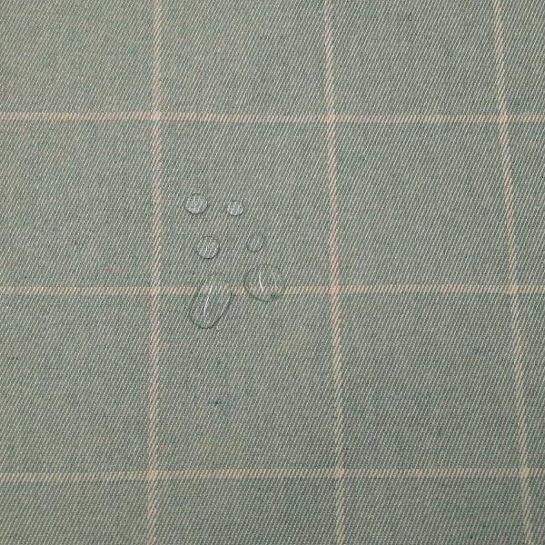 Stoff Meterware Baumwolle beschichtet Lewis Wachstuch hellblau Tischdecke 0,5