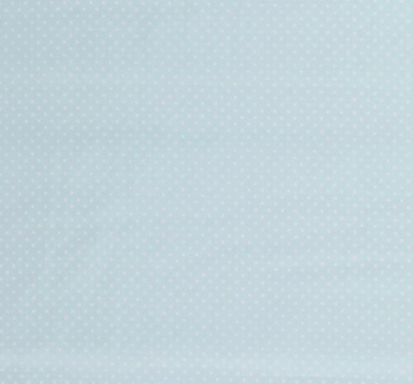Stoff Baumwollstoff Punkte mint weiß S 2 mm