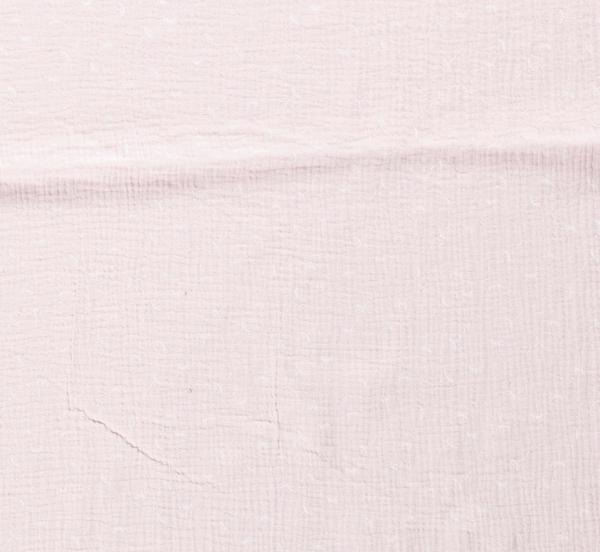 Stoff Baumwolle Pusteblume Musselin Mulltuch hellrosa 0,5 Sonderpreis