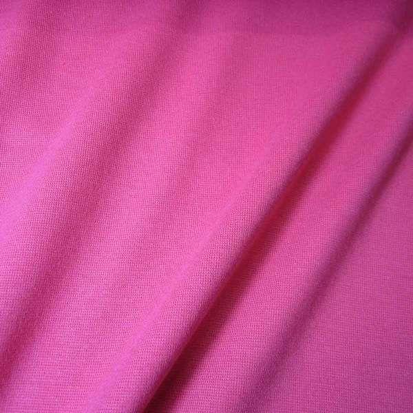 Kurzstück Bündchenstoff Jersey Schlauchware pink Ökotex100 0,30m x 0,36m