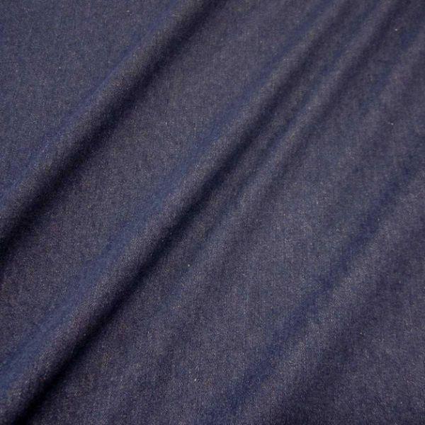 Stoff Meterware blau indigo Jeans Denim stabil