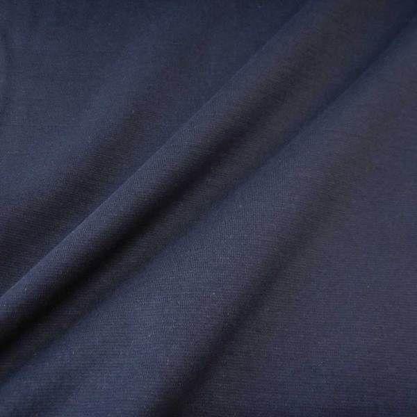 Bündchenstoff Jersey Schlauchware marine blau ökotex