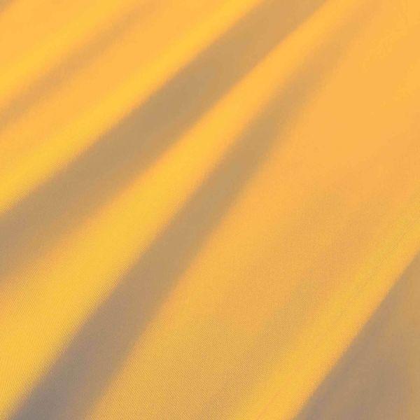 Meterware Markisenstoff gelb sonnengelb uni Sonnensegel Sichtschutz 0,5