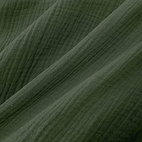 Stoff Baumwolle Musselin Mulltuch uni olivgrün 0,5