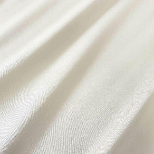 Meterware Markisenstoff ecru wollweiss uni Sonnensegel Sichtschutz 0,5
