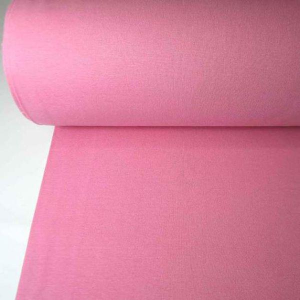 Bündchenstoff Jersey Schlauchware rosa Ökotex100