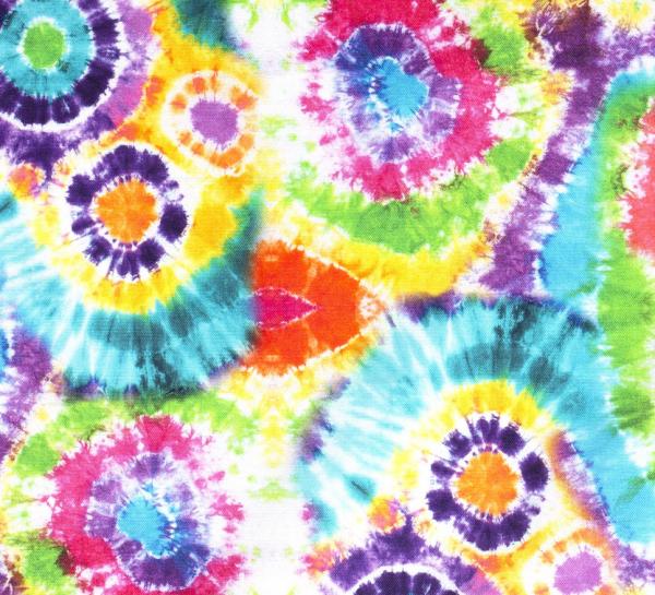 Stoff Baumwolle Batik bunt Digitaldruck 0,5