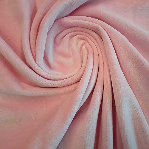 Stoff Baumwolle Nicky Nicki uni Rosa 0,5