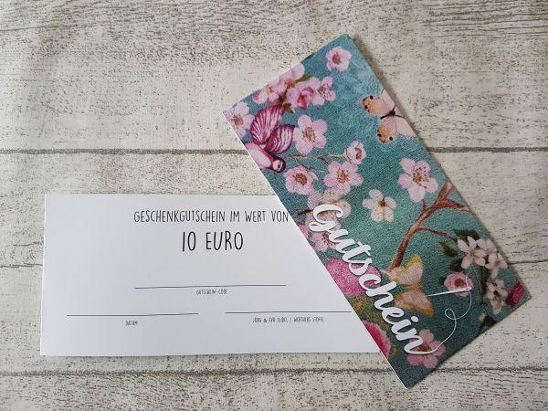 GUTSCHEIN über 10€
