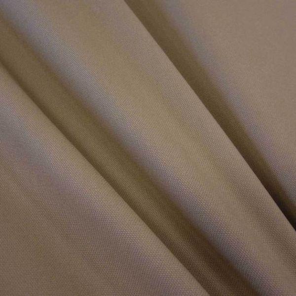 Stoff Baumwolle Meterware Panama Canvas beige sand