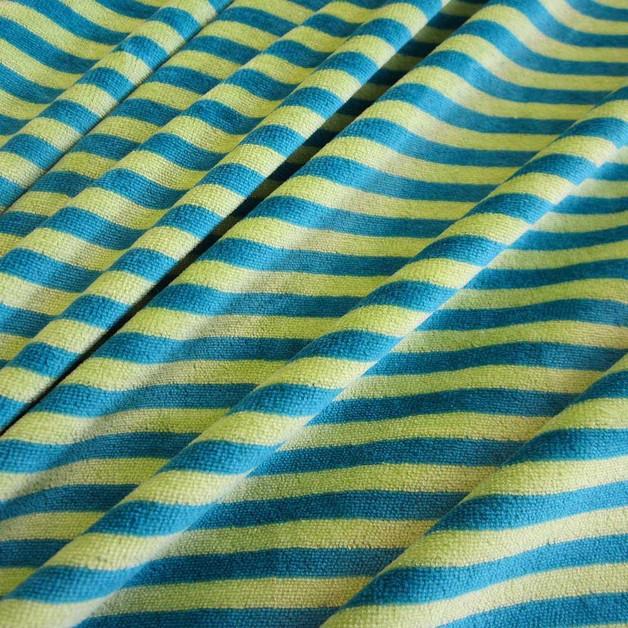 stoff baumwolle nicki kiwi petrol streifen gestreift niki kleiderstoff nicky 2015 kinderstoff. Black Bedroom Furniture Sets. Home Design Ideas