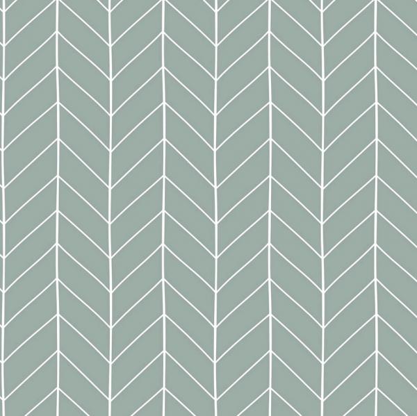 Stoff Baumwolle Meterware hellminze Grafik Linien 0,5