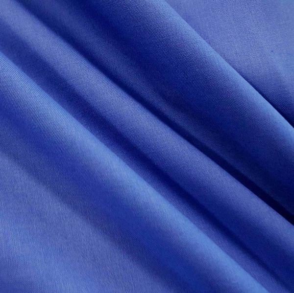 Stoff Baumwolle Fahnentuch royalblau uni 0,5