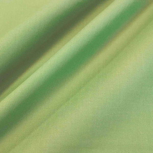 Stoff Baumwolle Fahnentuch hellgrün uni 0,5