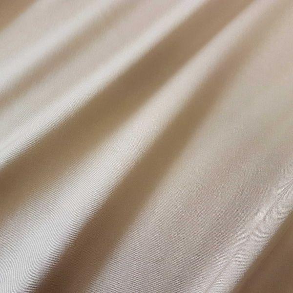 Kurzstück Meterware Markisenstoff beige sand uni Sonnensegel Sichtschutz 0,40m x 1,40m
